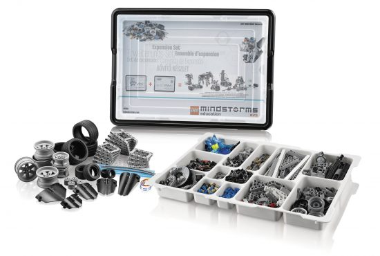 LEGO MINDSTORMS Education EV3 Expansion Set - Išplėtimo rinkinys (45560)