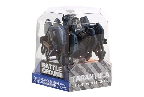 Hexbug battle ground tarantula robotas žaislas - pilkas