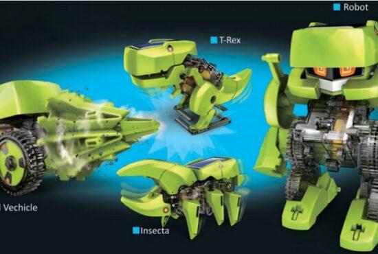 T4 Transforming Solar Robot Kit