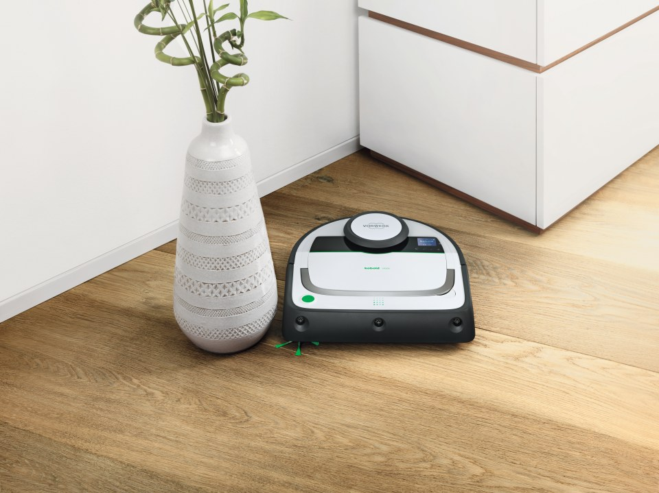 vorwerk kobold vr200 robotas dulki siurblys. Black Bedroom Furniture Sets. Home Design Ideas