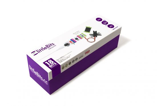 littleBits Electronics Deluxe Kit - rinkinys