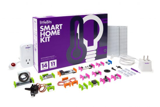 littleBits Electronics Smart Home Kit – rinkinys