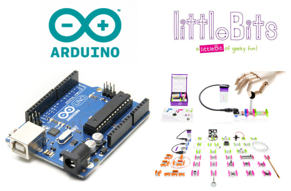 Littlebits electronics arduino coding kit rinkinys