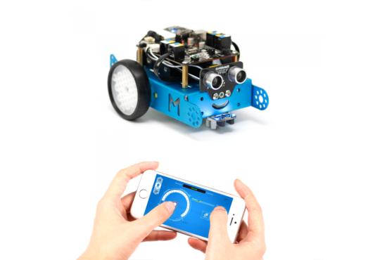 mBot robotas konstruktorius (2.4G versija)