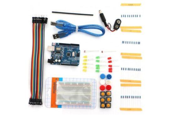 Mokomasis Elektronikos Rinkinys - Išmaniosios Grandinės su ATmega328P Mikrovaldikliu