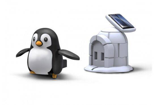 Penguin life solar - robotas žaislas