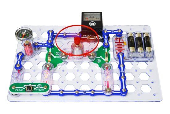 Snap Circuits Snaptricity eksperimentų rinkinys