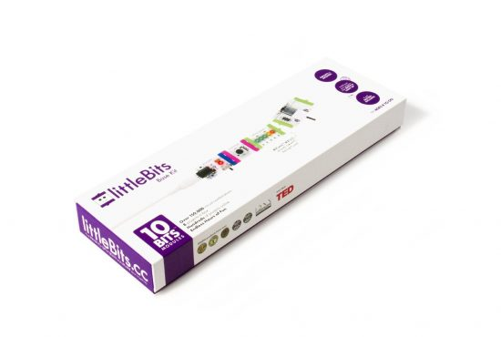 littleBits Electronics Base Kit - rinkinys
