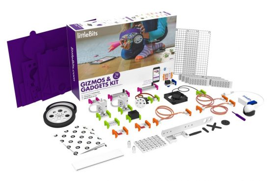 littleBits gizmos and gadgets 2nd edition rinkinys